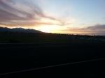 Friday Night Run - Sunset